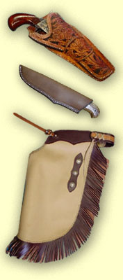 custom saddles and leather work